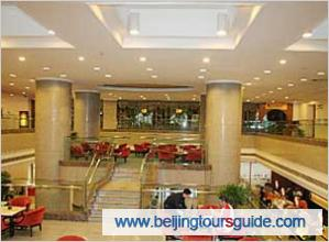 Lobby of Beijing Continental Grand Hotel