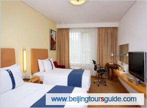 Twin bed room of Holiday Inn Express Beijing Temple of Heaven