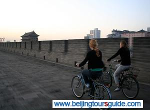 Cycling on  City Wall