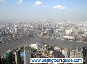 View from Shanghai World Financial Center
